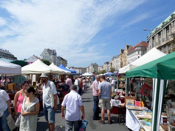 Flea market at the Naschmarkt