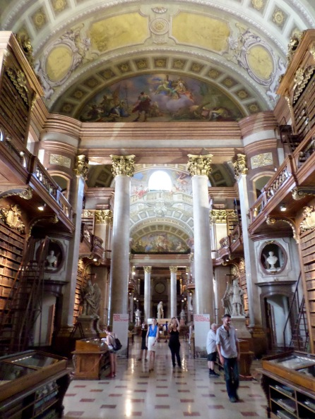 The State Hall of the Austrian National Library