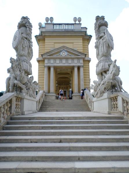 Stone statues of the Gloriette