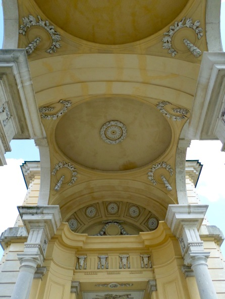 Decorated ceiling of the Gloriette